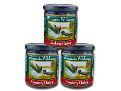 Wisconsin-Wilderness-Cranberry-Chutney-Three-10-oz-Jars-0