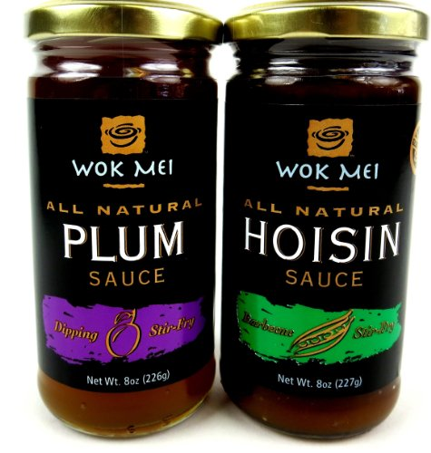 Wok-Mei-Gluten-Free-Sauces-2-Flavor-Variety-One-8-oz-Jar-Each-of-Hoisin-and-Plum-in-a-BlackTie-Box-2-Items-Total-0-0