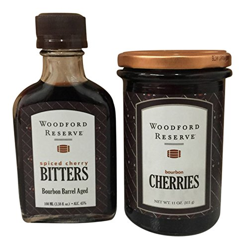 Woodford-Reserve-Spiced-Cherry-Bourbon-Barrel-Aged-Cocktail-Bitters-Bourbon-Cherries-2-Pack-0