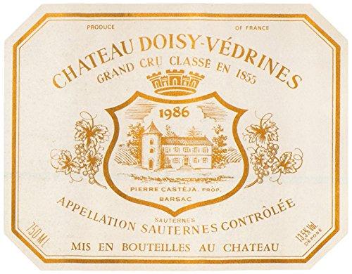 1986-Chateau-Doisy-Vedrines-Sauternes-Bordeaux-750-mL-0-1