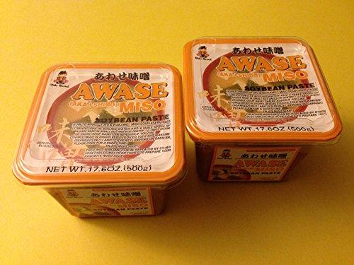 2-x-Miko-Awase-Miso-Soybean-Paste-Aka-Shiro-500-Gram-GMO-Free-Japanese-Miso-Paste-0