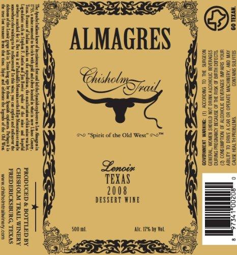 2008-Chisholm-Trail-Almagres-Lenoir-Dessert-Wine-500-ml-0