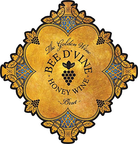 2013-Bee-dVine-Brut-Honey-Wine-aka-Mead-or-Tej-375-mL-0