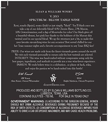 2013-Sloan-Williams-Spectrum-Perfected-Blush-Table-Wine-750-mL-0-0