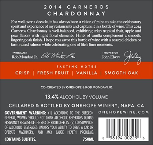 2014-Elways-Reserve-Carneros-Chardonnay-750ml-Wine-0-0