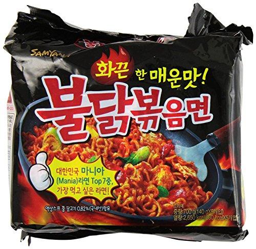 9-PacksSamyang-Buldak-Bokkeum-Spicy-Chicken-Ramen-5-Packs-Nongshim-Chapagetti-Chajang-noodle-ramyun-4-Packs-Combo-0-0