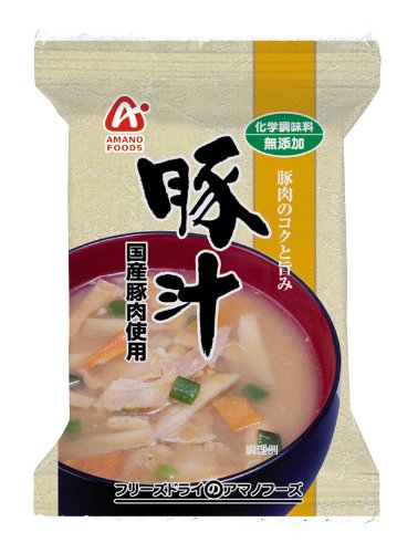 Amano-Foods-Freeze-dried-Additive-free-Miso-Soup-with-Pork-and-Vegetables-04oz-X-10bagsfor-10-Servings-Japan-Import-0