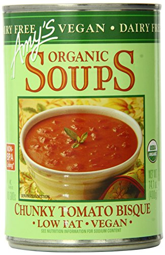 Amys-Organic-Soups-Vegan-Chunky-Tomato-Bisque-141-Ounce-Pack-of-12-0