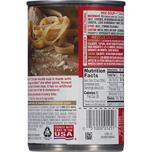 Campbells-Condensed-Soup-Chicken-Noodle-1075-Ounce-Pack-of-48-0-0