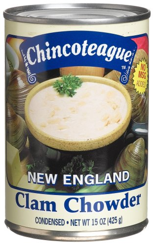 Chincoteague-Seafood-New-England-Clam-Chowder-15-Ounce-Cans-Pack-of-12-0-0