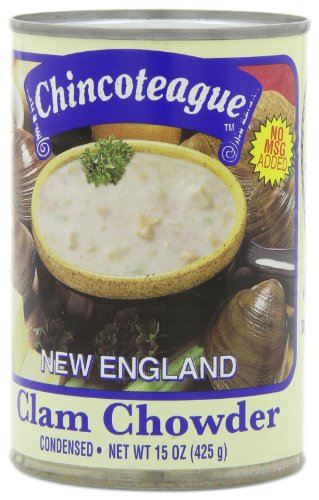 Chincoteague-Seafood-New-England-Clam-Chowder-15-Ounce-Cans-Pack-of-12-0