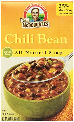 Dr-McDougalls-Right-Foods-Soup-Chili-Bean-18-Ounce-Pack-of-6-0