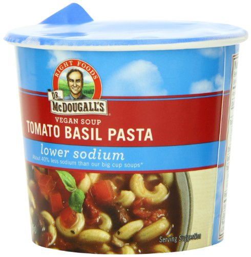Dr-McDougalls-Right-Foods-Vegan-Tomato-Basil-Pasta-Soup-Lower-Sodium-13-Ounce-Cups-Pack-of-6-0