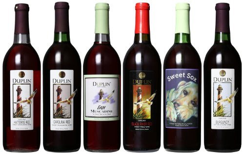 Duplin-Wine-Cellars-Six-Reds-Burgundy-Hatteras-Red-Carolina-Red-Black-River-Red-Sweet-Sox-Red-and-Easy-Mixed-Pack-6-x-750-mL-Red-Wine-0