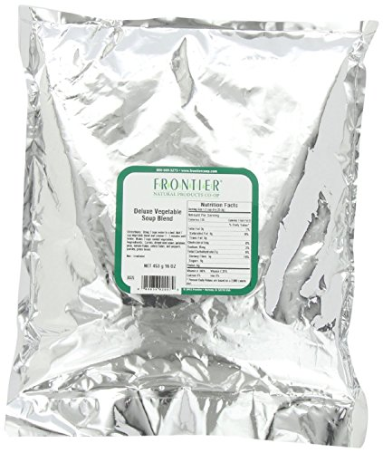 Frontier Deluxe Vegetables Soup Blend 16 Ounce Bag