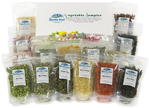 Harmony-House-Foods-Dried-Vegetable-Sampler-15-Count-ZIP-Pouches-for-Cooking-Camping-Emergency-Supply-and-More-0