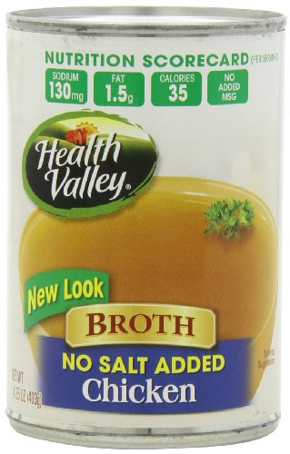 Health-Valley-No-Salt-Added-Broth-Chicken-1425-Ounce-Pack-of-12-0
