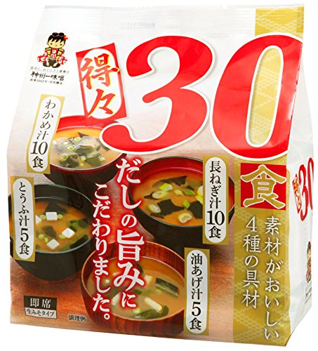 Miyasaka-Miso-Soup-Value-Pack-Toku30-122-Ounce-0