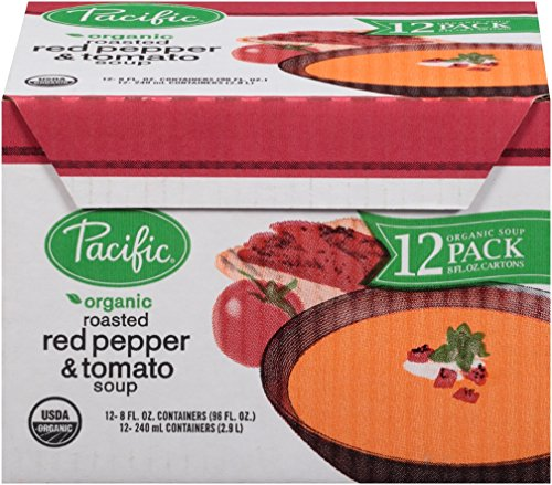 Pacific-Foods-Organic-Soup-Creamy-Roasted-Red-Pepper-and-Tomato-8-Ounce-Pack-of-12-0-0