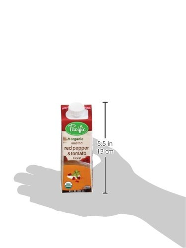 Pacific-Foods-Organic-Soup-Creamy-Roasted-Red-Pepper-and-Tomato-8-Ounce-Pack-of-12-0-1