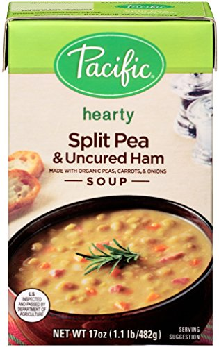 Pacific-Foods-Organic-Soup-Split-Pea-and-Uncured-Ham-17-Ounce-Pack-of-12-0