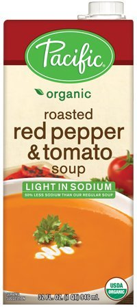 Pacific-Natural-Foods-Light-Sodium-Organic-Soup-Roasted-Red-Pepper-Tomato-32-Ounce-Cartons-Pack-of-12-0