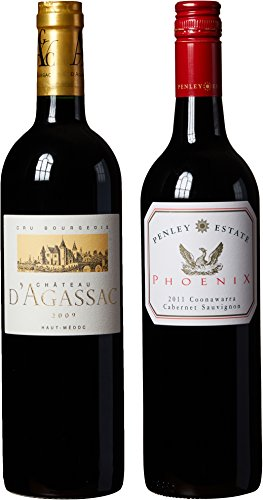 Red-Bordeaux-Coonawarra-Cabernet-Sauvignon-Themed-Wine-Pairing-Hand-Selected-by-Americas-1st-Master-Sommelier-A-Comparative-Way-to-Explore-Food-Wine-Mixed-Pack-2-x-750-mL-0