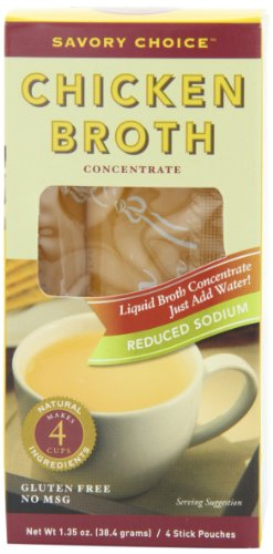 Savory-Choice-Reduced-Sodium-Chicken-Flavor-Broth-Concentrate-4-Count-Liquid-Sticks-Pack-of-6-0