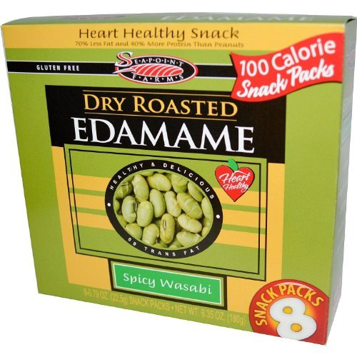 Seapoint-Farms-Dry-Roasted-Edamame-Spicy-Wasabi-8-Snack-Packs-4-Boxes-0