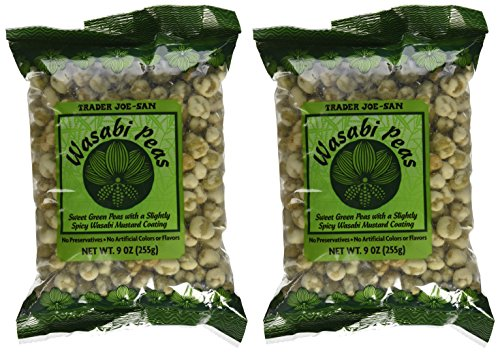 Wasabi-Peas-TRADER-JOES-Pack-of-2-9oz-each-These-dried-pea-snacks-are-crunchy-Preservative-FREE-with-no-artifical-colors-or-flavors-0-0